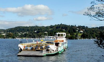 Windermere ferry service resumes